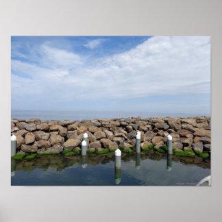 Rompeolas del St Kilda Póster