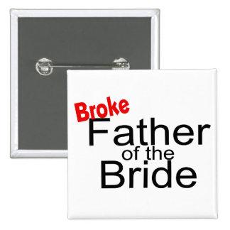 Rompió al padre de la novia pin