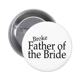 Rompió al padre de la novia pins