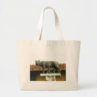 Romulus and Remus - Ancient Rome Jumbo Tote Bag