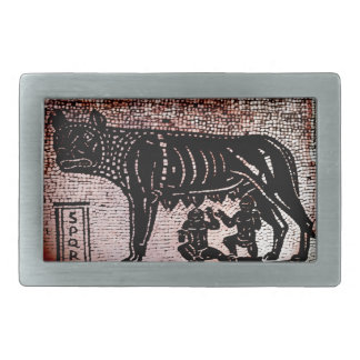 Romulus and Remus Belt Buckles