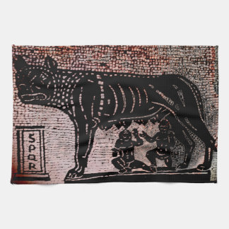 Romulus and Remus Kitchen Towel