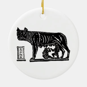 Romulus And Remus Ornaments & Keepsake Ornaments | Zazzle