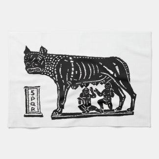 Romulus and Remus Roman Mythology Hand Towel