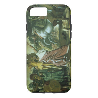 Romulus, conqueror of Acron, taking his booty to t iPhone 8/7 Case