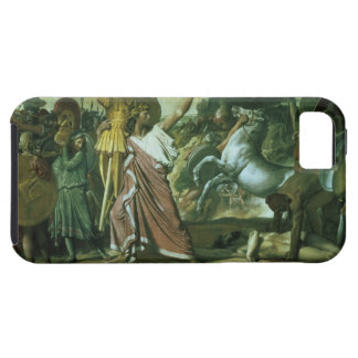 Romulus, conqueror of Acron, taking his booty to t iPhone SE/5/5s Case