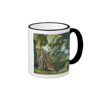 Romulus, conqueror of Acron, taking his booty to t Coffee Mug