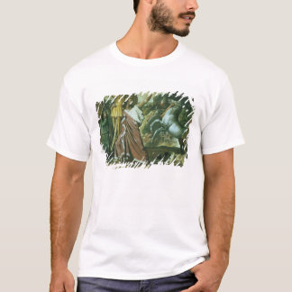 Romulus, conqueror of Acron, taking his booty to t T-Shirt