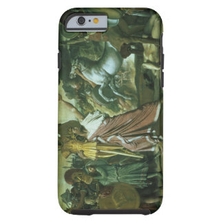 Romulus, conqueror of Acron, taking his booty to t Tough iPhone 6 Case
