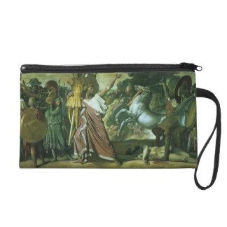 Romulus, conquistador de Acron, llevando su botín