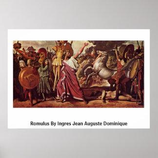 Romulus de Ingres Jean Auguste Dominique Impresiones