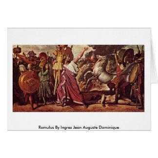 Romulus de Ingres Jean Auguste Dominique Felicitación