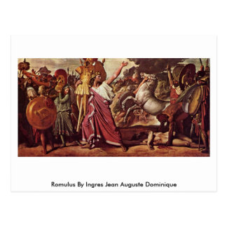 Romulus de Ingres Jean Auguste Dominique Postal