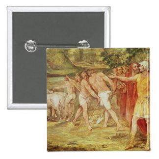 Romulus que marca los límites de Roma Pin
