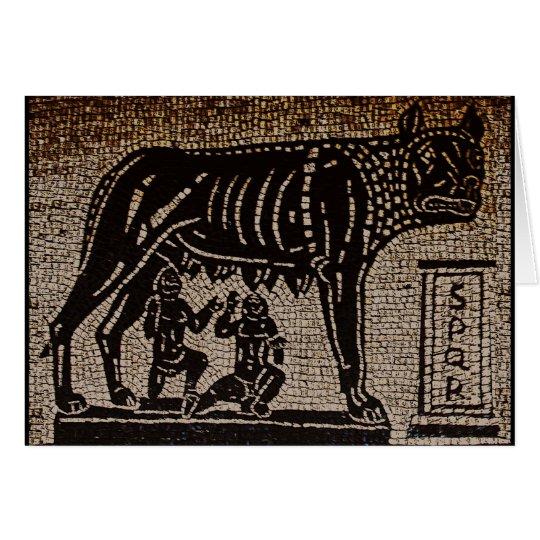 Romulus & Remus Card
