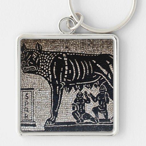 Romulus & Remus Key Chain
