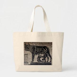 Romulus & Remus Large Tote Bag