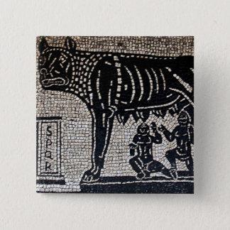 Romulus & Remus Pinback Button