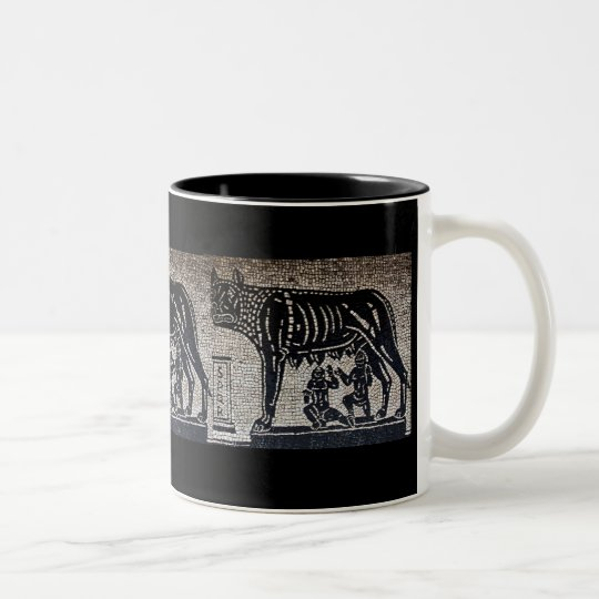 Romulus & Remus Two-Tone Coffee Mug