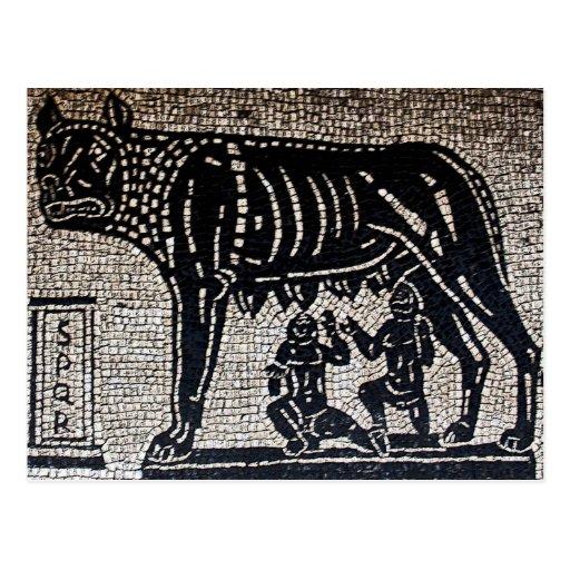Romulus y Remus Postales