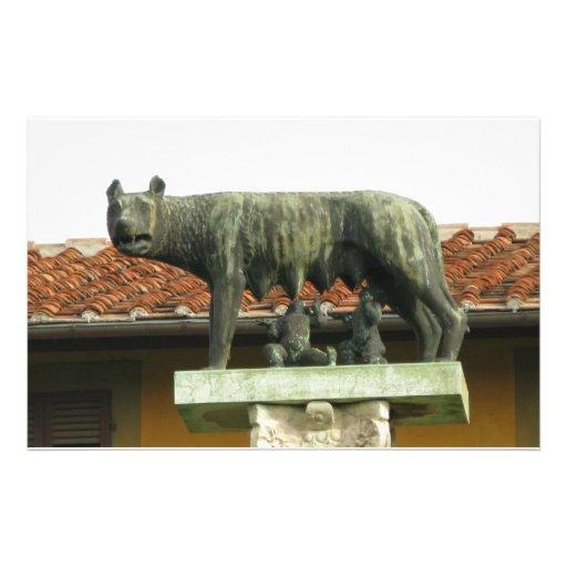 Romulus y Remus - Roma antigua Papeleria De Diseño