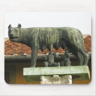 Romulus y Remus - Roma antigua Tapetes De Ratón