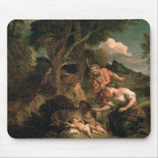 Romulus y Remus Alfombrillas De Raton