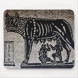 Romulus y Remus Tapetes De Ratón