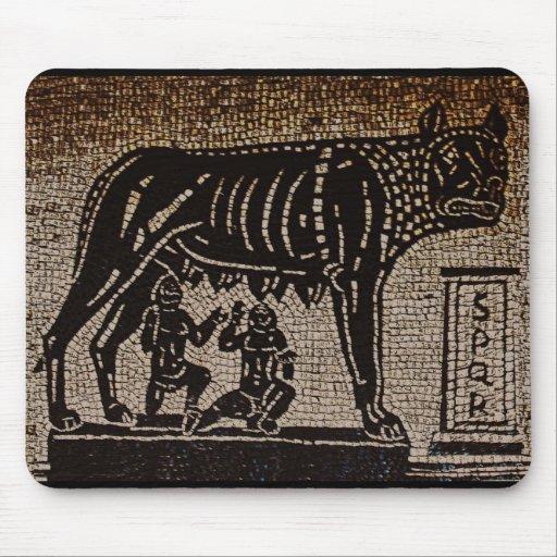 Romulus y Remus Tapetes De Ratones