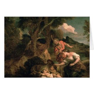 Romulus y Remus Tarjetón