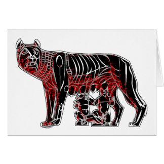 Romulus y Remus Felicitaciones