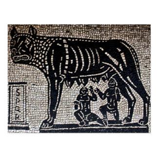 Romulus y Remus Postal