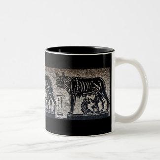 Romulus y Remus Tazas De Café