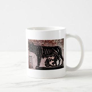 Romulus y Remus Taza Clásica
