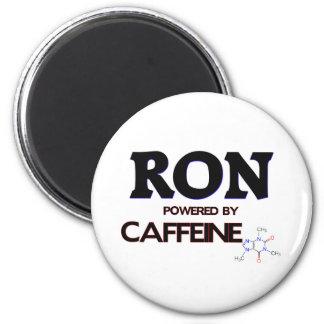 Ron accionó por el cafeína imán redondo 5 cm