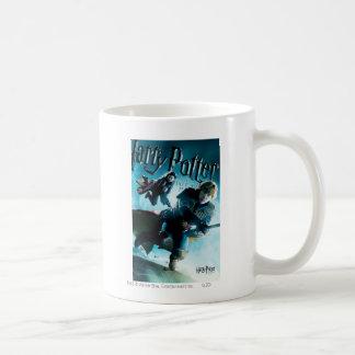 Ron and Ginny On Brooms 1 Coffee Mug