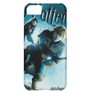 Ron and Ginny On Brooms 1 Cover For iPhone 5C