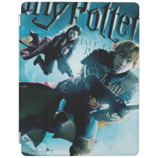 Ron and Ginny On Brooms 1 iPad Smart Cover