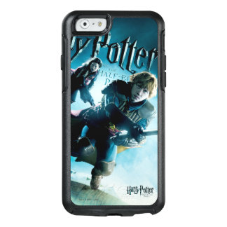 Ron and Ginny On Brooms 1 OtterBox iPhone 6/6s Case