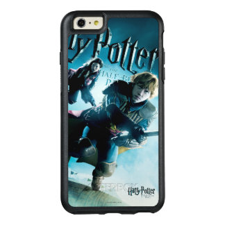Ron and Ginny On Brooms 1 OtterBox iPhone 6/6s Plus Case