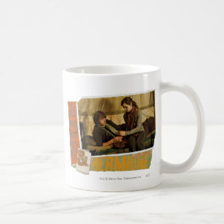 Ron and Hermione 1 Classic White Coffee Mug
