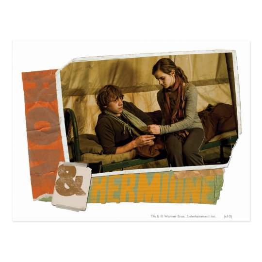 Ron and Hermione 1 Postcard