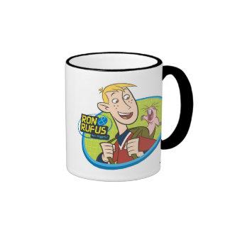 Ron and Rufus Disney Ringer Coffee Mug