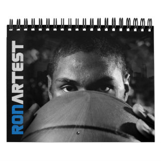 Ron Artest 2010 Calendar