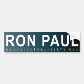 RON BUMPER STICKER