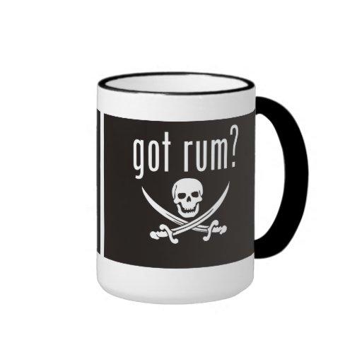 ¿Ron conseguido? Taza del café o del grog