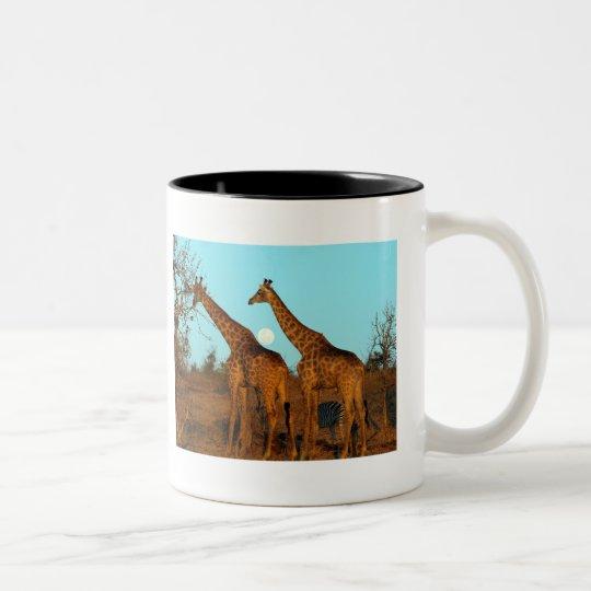 Ron Gossner Photography Two-Tone Coffee Mug
