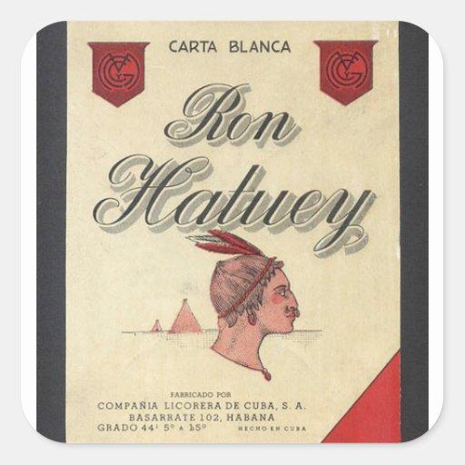 Ron Hatuey Vintage Sticker