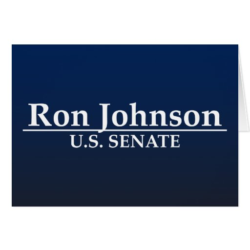 Ron Johnson U.S. Senate Card