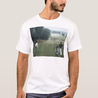 Ron McGill Golfing Oil Painting 1 T-Shirt